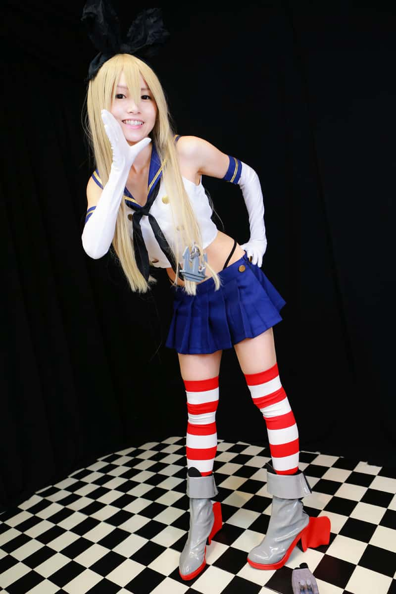 Shimakaze cosplay photos hana sendai japan