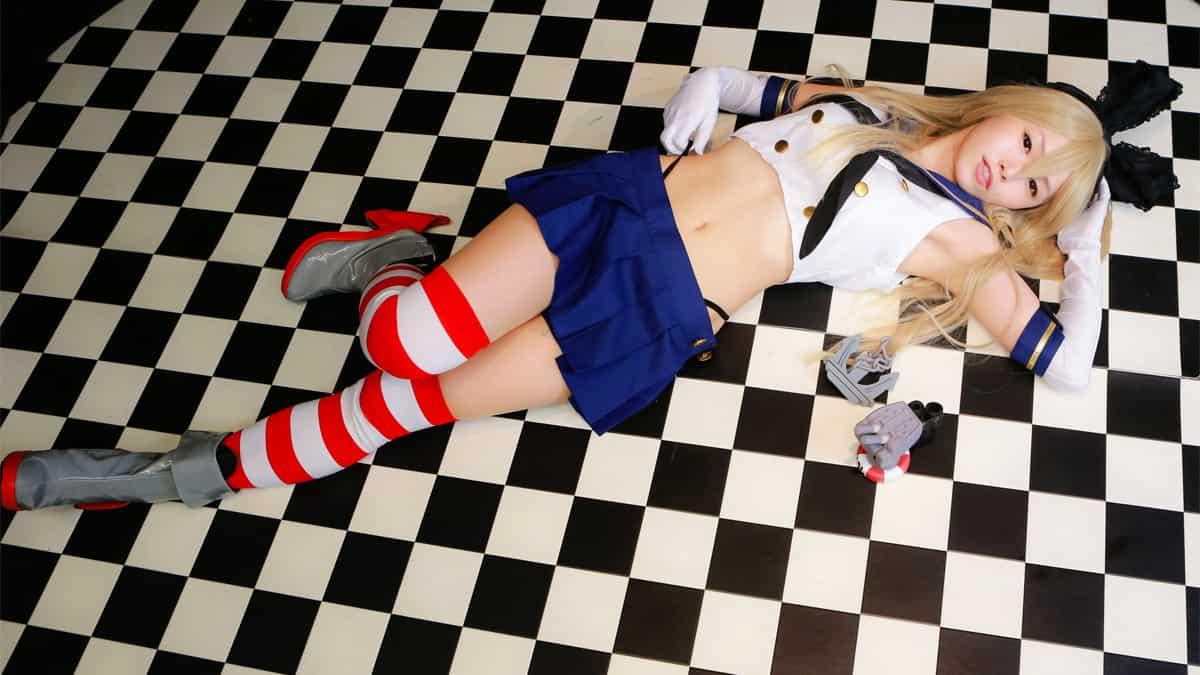 Shimakaze cosplay photos hana sendai japan (4)