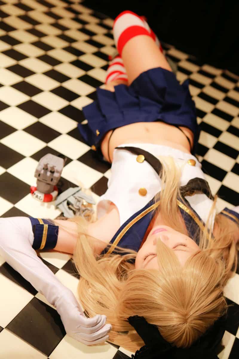 Shimakaze cosplay photos hana sendai japan (7)