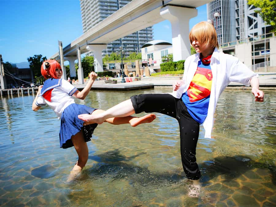 gintama cosplay kobe japan (1)