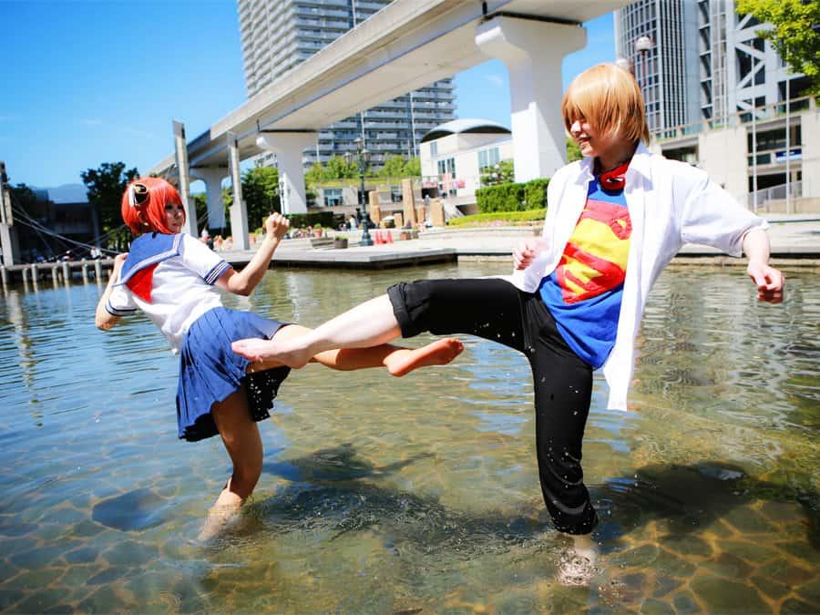 銀魂3z コスプレ Cosplay Photos やみこ&葉璢さん