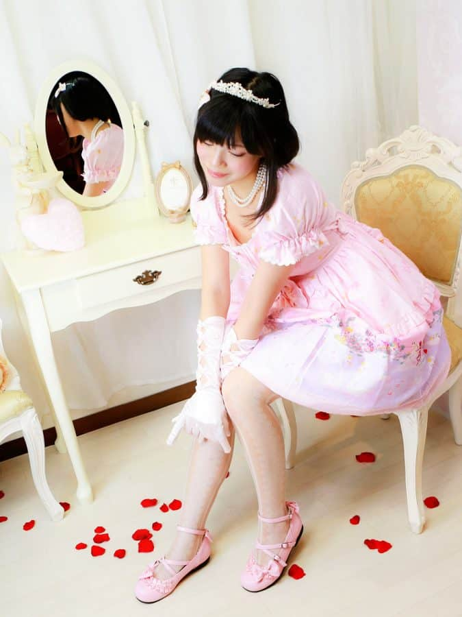 ロリータ ファッション Lolita fashion 文月さん